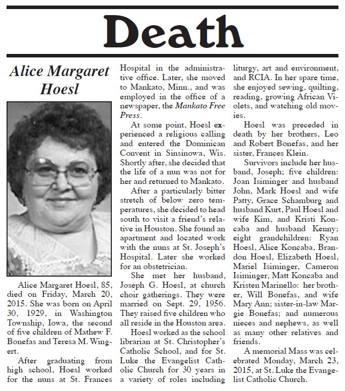 Using Newspaper Obits to Research Your Ancestors