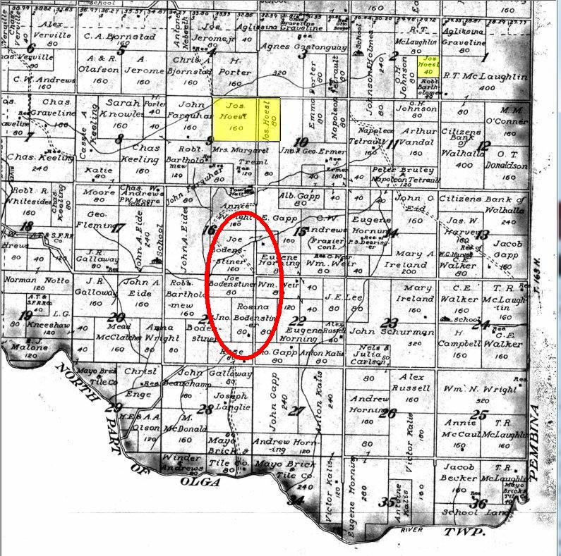 Using a Platte Map to Research Ancestors - Platte Map Examples